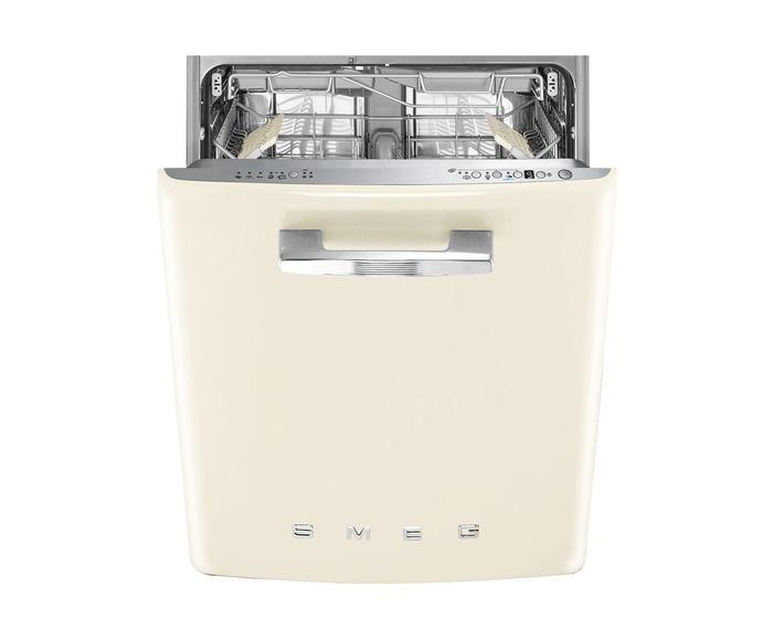 Zmywarka Do Zabudowy 50 S Style Retro Creamy 59 8 X 54 5 X 81 8 Cm Westwing Washing Machine Home Appliances Style