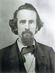 Henry George, author of 'The Land Question'. Read more about Henry in Wikipedia