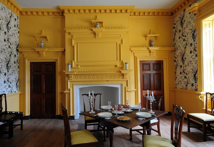 Gunston Hall was the only home in Colonial America known to have a room in the chinoiserie style. Photo by Louise Krafft. source: http://roamingtheplanet.com