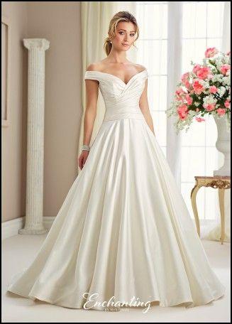 Jackie O Inspired Wedding Dress