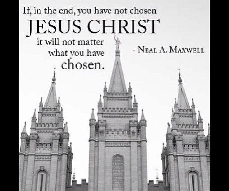 Choose Christ
