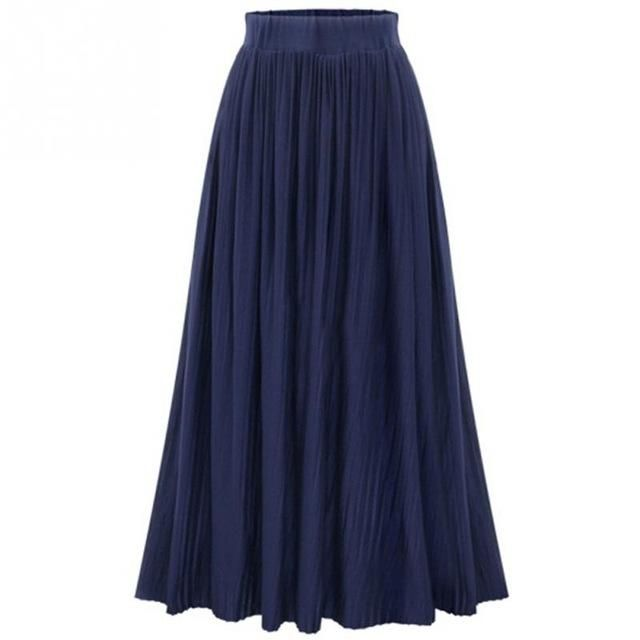 Nevaeh Cotton Blend Skirt