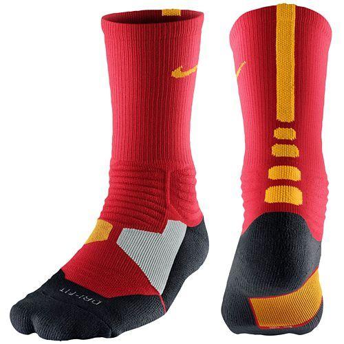 60c6b97d1e4 elite socks match nike foamposite gym red sneaker foam socks