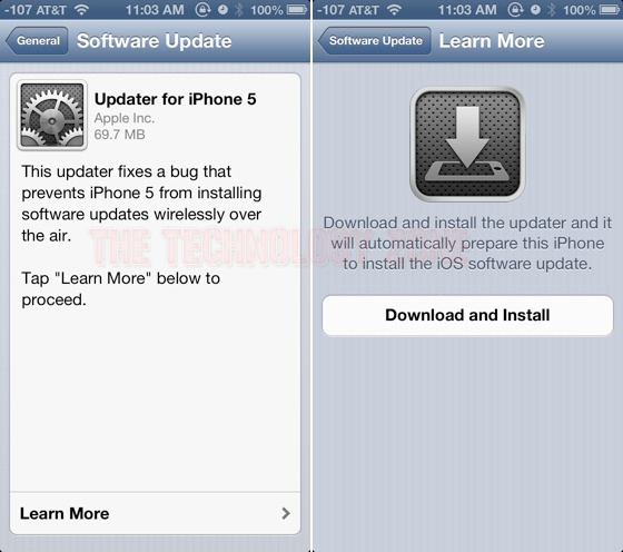 Apple Releases iOS 6.0.1 OTA With Fixes For WPA2 And Exchange - The Technology Zone
