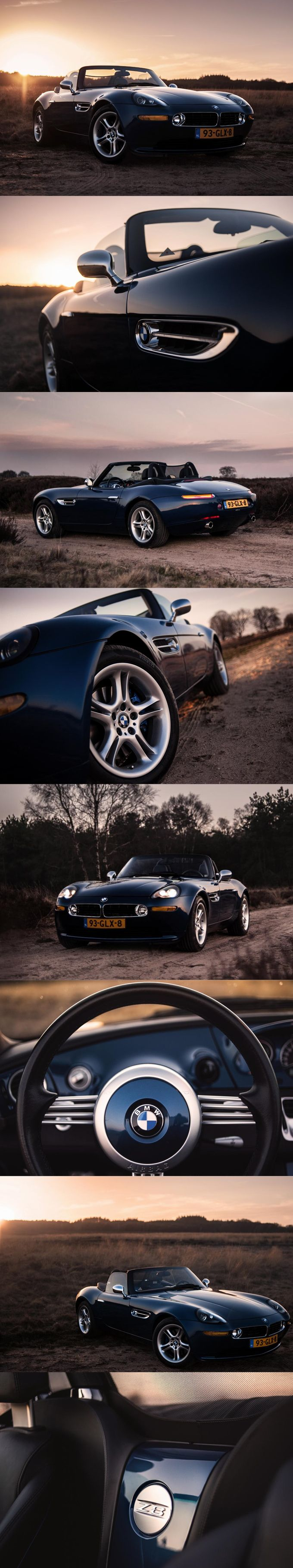 2001 BMW Z8 / 400hp 4.9l V8 / E52 / Henrik Fisker / Germany / blue / 17-396 / photo: Sander van der Linden / Autojunk.nl
