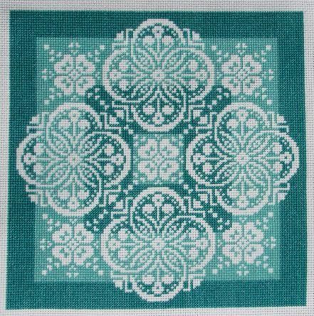 Lace Traces - Shades Of Jade
