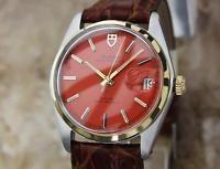 Rolex Tudor Rare Automatic Ref 7996 Ser 548581 1965 35mm Swiss Made Watch LV79