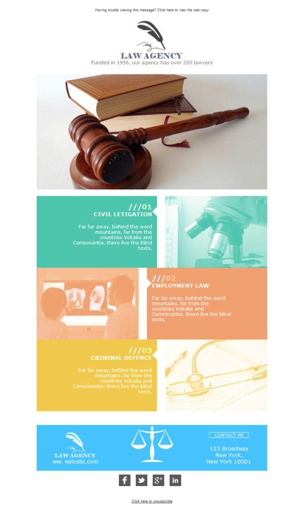 Tu bufete de abogados o tu negocio de servicios legales debería hacer emailing con Mailify para diferenciarse de la competencia y mantener al día tus clientes. Prueba estas plantillas newsletter que hemos escogido para ti, ¡personalizables y adaptadas a tu negocio!