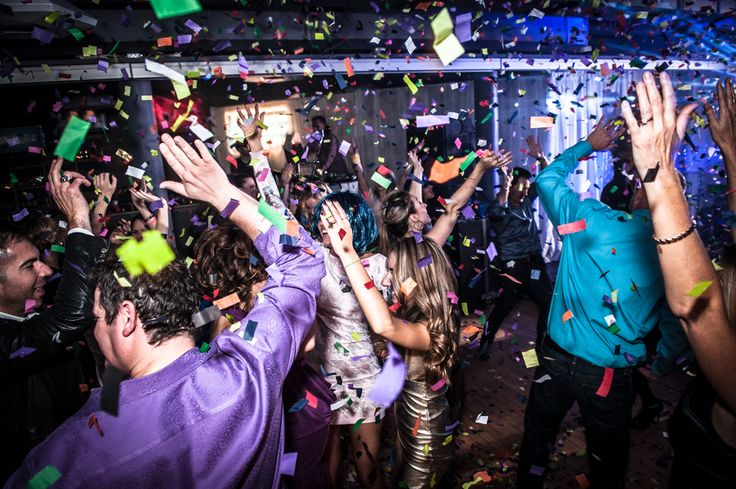2nd Floor Events - Happy Birthday!! Confetti http://www.fusion-events.ca/