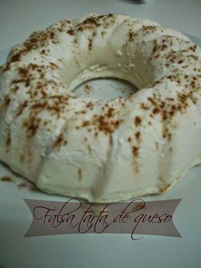 DE CRUCERO CON DUKAN : Falsa tarta de queso Dukan
