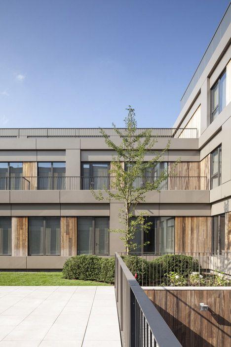 Areal Architecten's Mayerhof retirement home wraps two courtyards