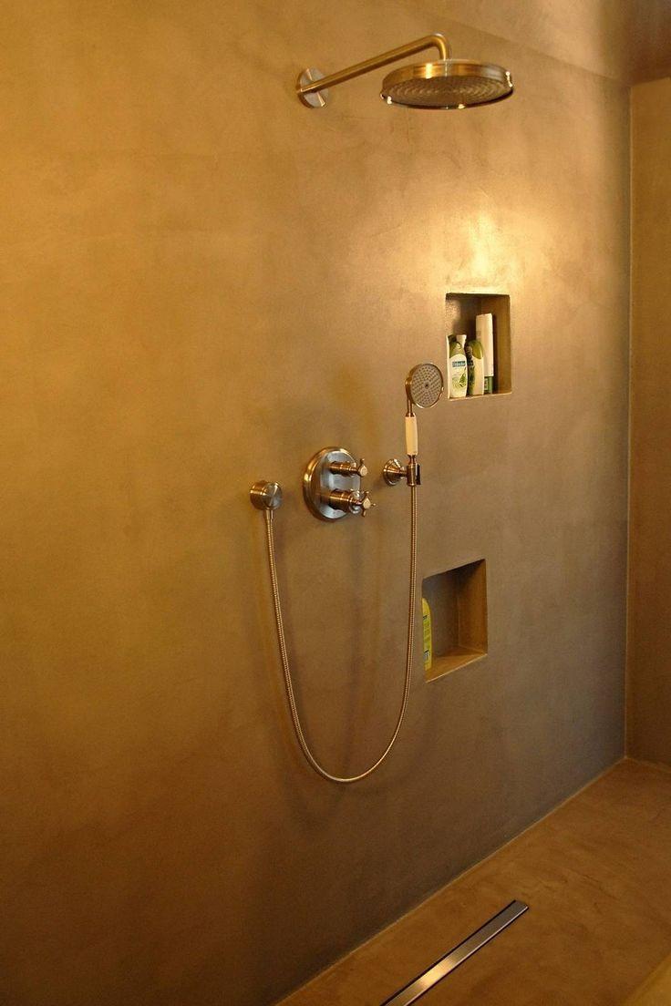 Pin by wooning keukens badkamers on stuc deco pinterest - Kleine badkamer deco ...