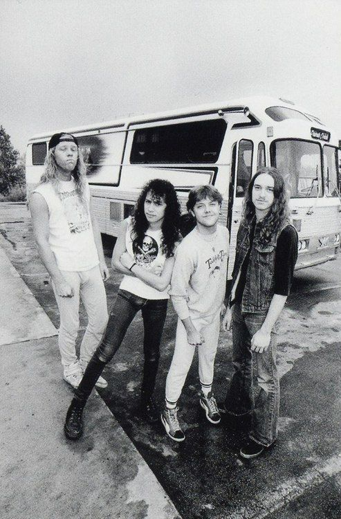 Metallica: early years.
