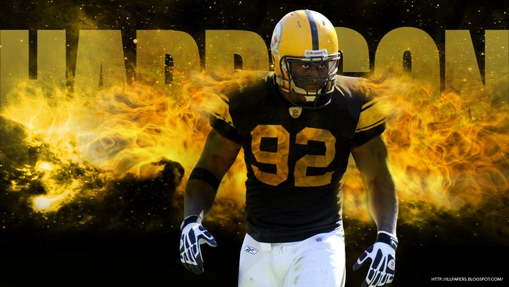 pittsburgh steelers | ... , Backgrounds & More: James Harrison Wallpaper - Pittsburgh Steelers