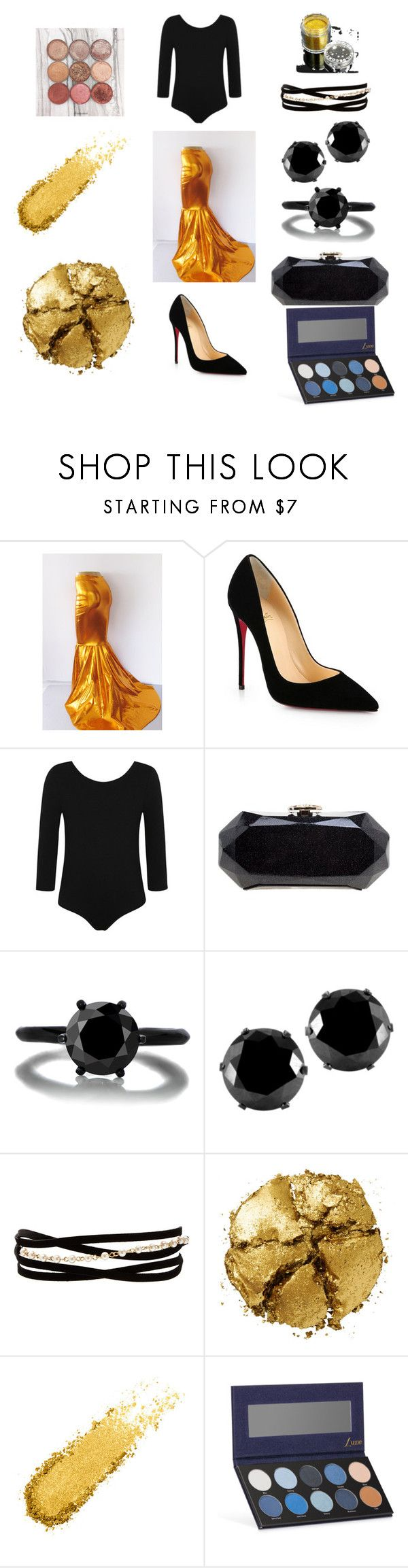 """""""vma"""" by kweenmani on Polyvore featuring Christian Louboutin, George, Chanel, West Coast Jewelry, Kenneth Jay Lane, Pat McGrath and Luxie"""