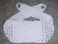 BACK SCRUBBER Crochet Pattern - Free Crochet Pattern Courtesy of Crochetnmore.com