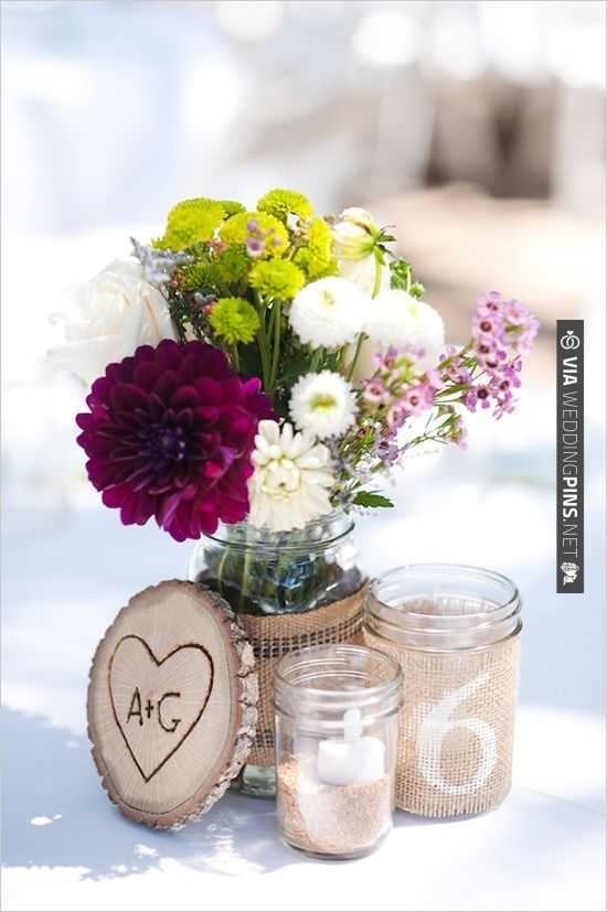 rustic wedding decorations | VIA #WEDDINGPINS.NET