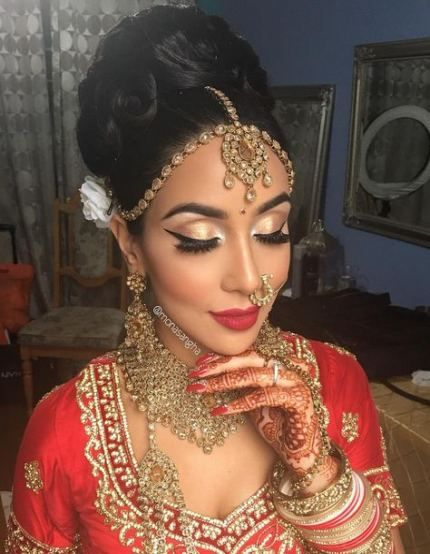 Best Indian Bridal Makeup And Hair Hairstyles Ideas