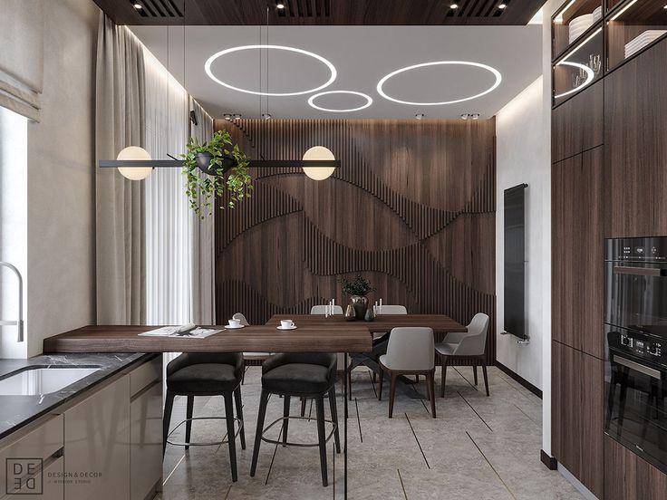 Luxurious Interior With Wood Slat Walls Wood slat wall