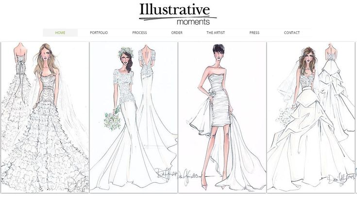 Wedding Dress Sketch Gift: 405 Best Images About Dresses To Draw On Pinterest