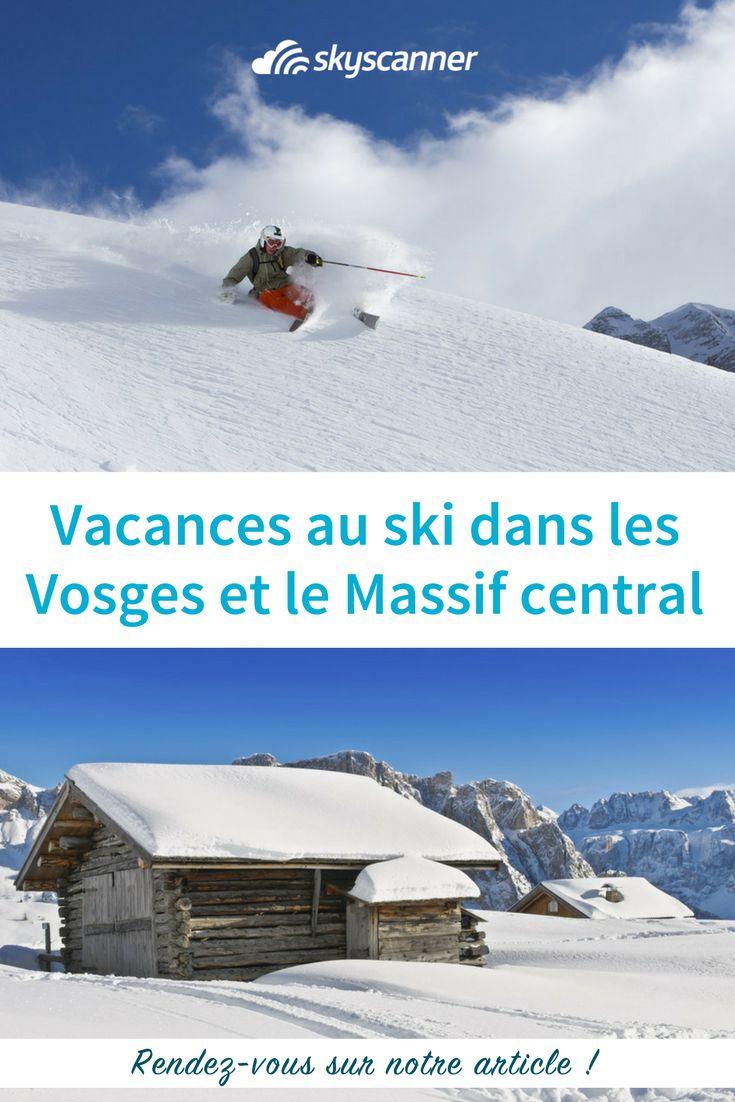 Voici nos plus belles adresses de station de ski dans les Vosges et dans le Massif central #france #ski #vosges #massifcentral #voyage #vacances