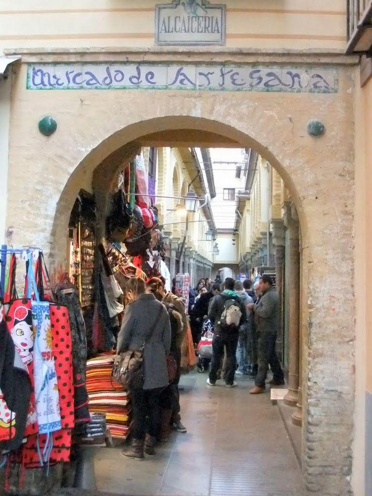 Alcaiceria of Granada (Street of Arab Shops)  +++ Robert's blog posts about Spain:  http://bovington-posts.blogspot.com.es/  http://bobbovington.blogspot.com.es/  http://bovingtonphotosofspain.blogspot.com.es/