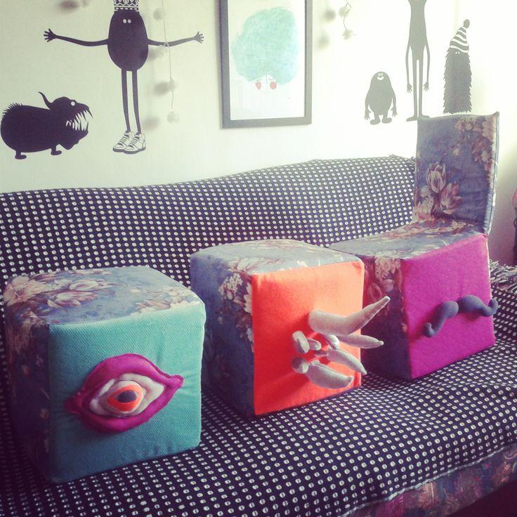 Eyecandy Monsters - Studio