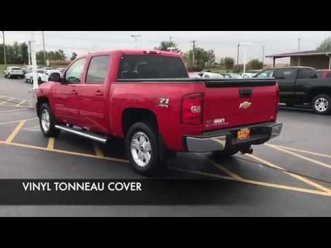 video USED 2012 SILVERADO 4X4 CREW CAB FOR SALE AT RON WESTPHAL CHEVROLET