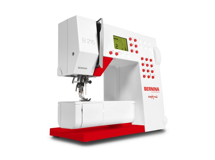 BERNINA 215 Simply Red Sewing Machine Sweeps ends 10-6-15 over at http://www.allfreesewing.com/sweeps/BERNINA-215-Simply-Red-Sewing-Machine