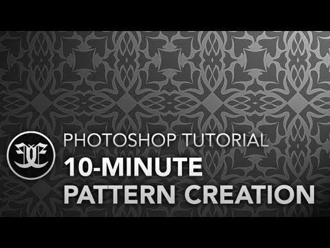 Photoshop Tutorial: 10-Minute Pattern Creation
