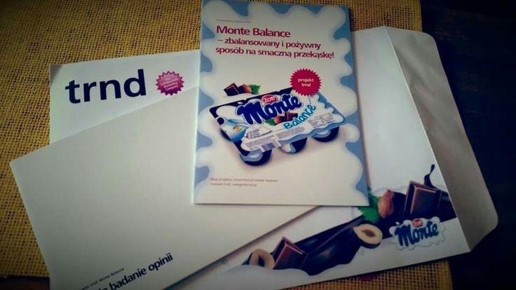 TestuJEMY :) #trnd #montebalanced #deser #ambasador #test #monte