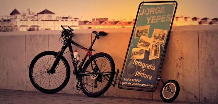 Publicidad móvil: la efectividad de las bicicletas con publicidad