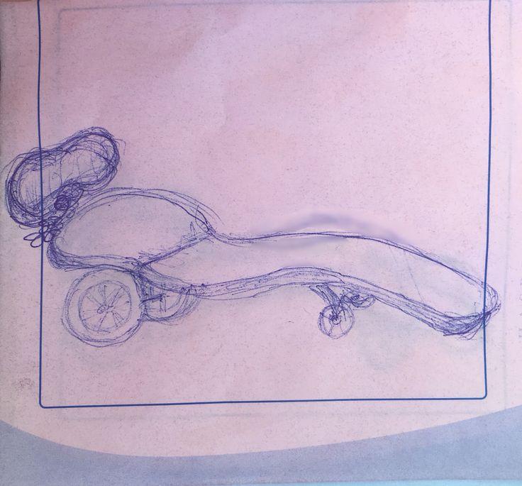 Анатомический шезлонг из резины молочного цвета с гибким каркасом внутри и с регулируемым мягким подголовником на мощной пружине)