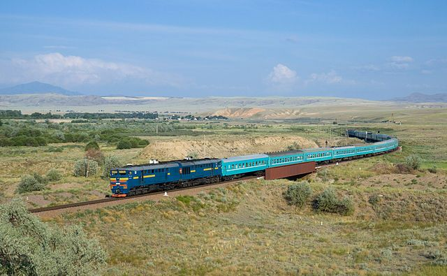 Kazachstan railway: Kyzylorda - Semipalatinsk. Source: railway-technology.com