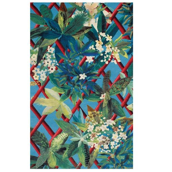 Canopy Turquoise Rugs By Christian Lacroix