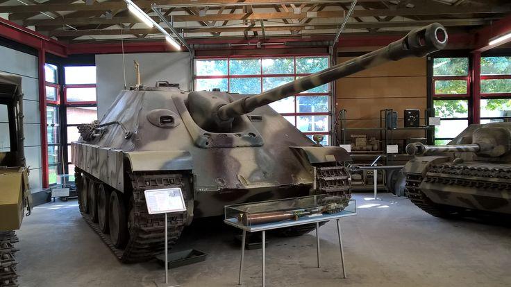 Jagdpanther Saksan panssarimuseo Munster