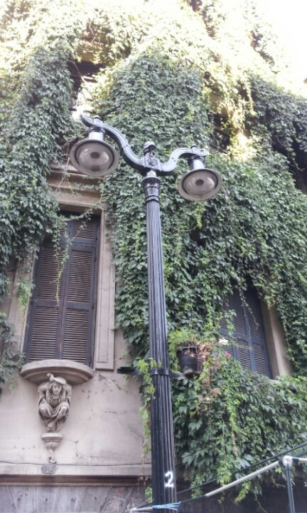 Barrio  Lastarria .Santiago de Chile