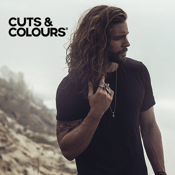 Lang haar | Mannen Kapsel | CUTS & COLOURS