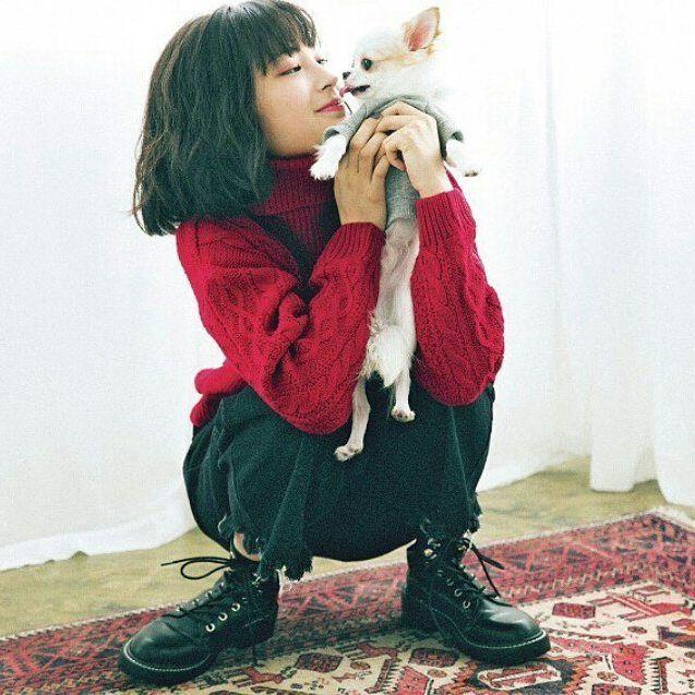 このすずちゃん髪型可愛い〜💕ぱーぷー🐶 #広瀬すず #すずちゃん #可愛い #大好き #Seventeenモデル #キュン死 #HiroseSuzu  #Suzu