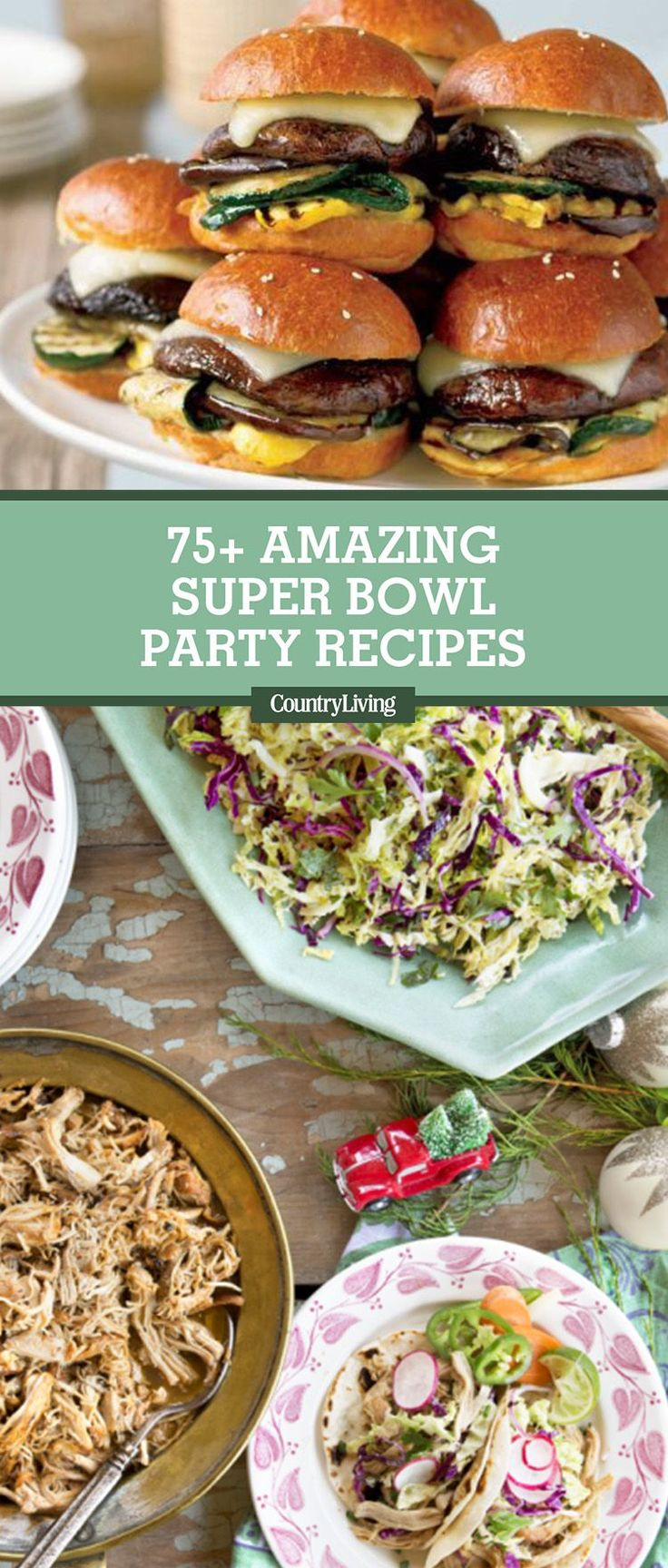 The Super Bowl is this Sunday! Get our most delicious Game Day recipes and food ideas for Super Bowl Sunday