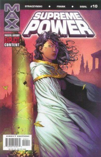 Supreme Power #10 Single Comic Book July 2004 by MAX Comi...