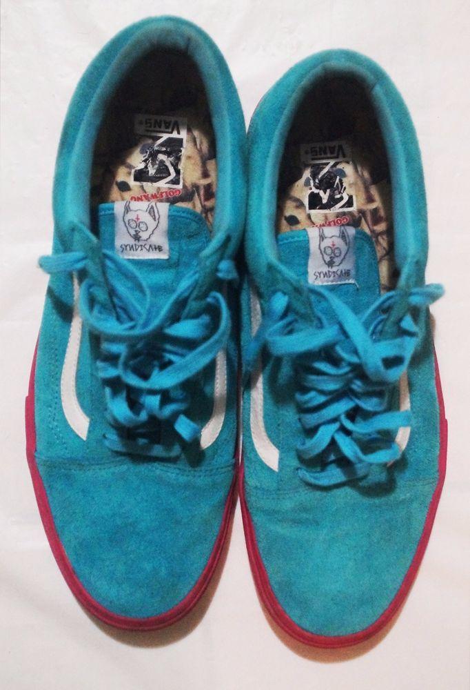 Odd Future X Vans Syndicate Golf Wang Old Skool Pro Blue Pink Skate Shoes Sz.13 #VansxGolfWangxSyndicate #Skateboarding