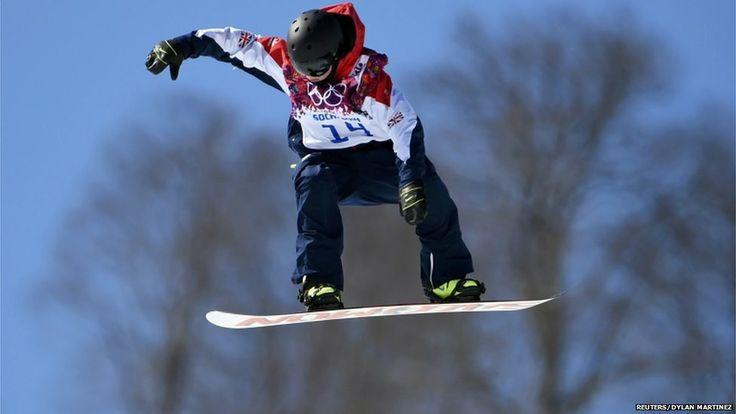 Jamie Nicholls - A British snowboarder