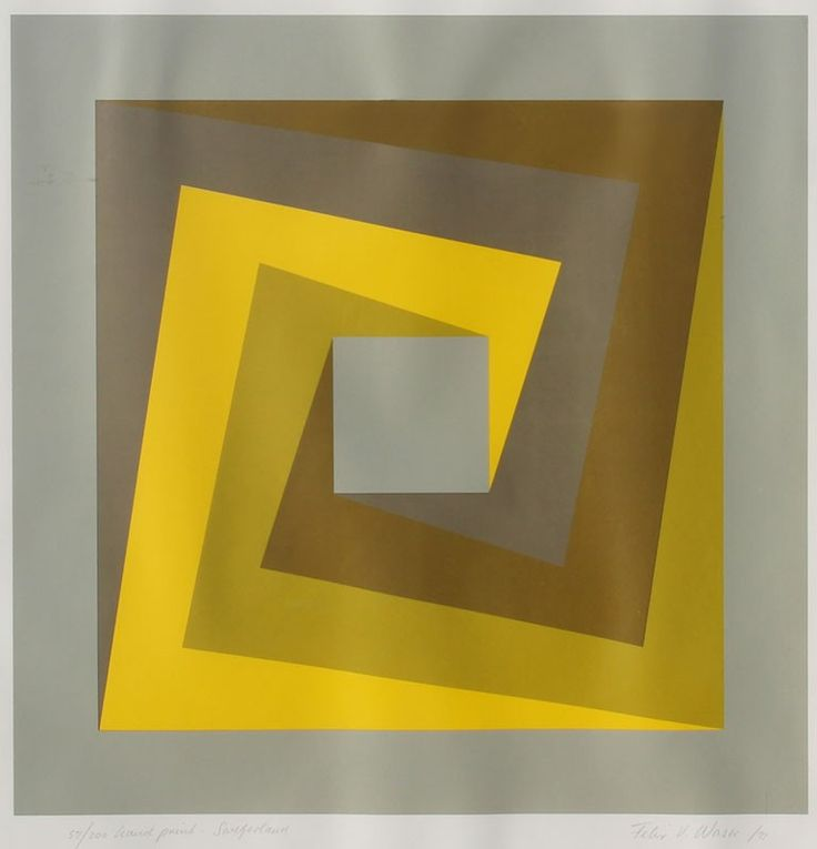 Felix Waser — Geometric Composition (1971)