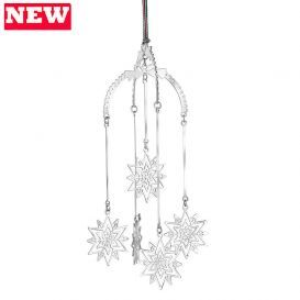 Love this new hanging snowflake decoration from Newbridge Silverware.  It jingles in the breeze.  #NewbridgeSilverware #NewbridgeChristmas