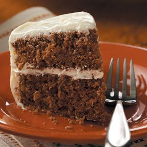 """Walnut Spice Cake Recipe -Theresa Ziemski of Pittsburgh, Pennsylvania writes, """"This is a family favorite that's a little too large for my husband and me. I'd like a smaller version. Can you help?"""" Our Test Kitchen came to your rescue, Theresa!"""