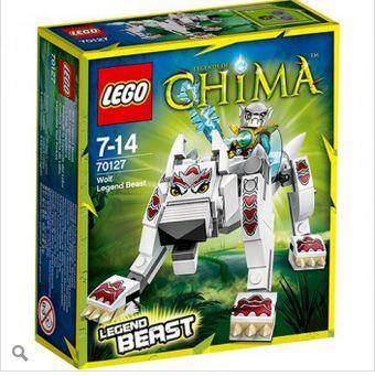 Đồ chơi Lego chima sói huyền thoại 70127_255.000đ