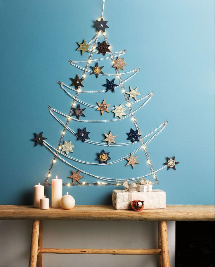 #DIY - Créez un sapin de #Noël étoilé !                                                                                                                                                                                 Plus