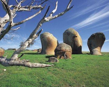 Murphy's Haystacks near Streaky Bay, South Australia.