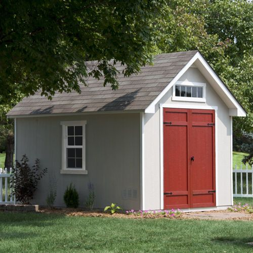 Pre Cut Timber Frames For Buildings Storage Garages And More: Costco Everton Deluxe Shed 8 Ft. X 12 Ft. $1,200